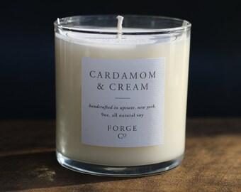 Cardamom & Cream Soy Wax Candle