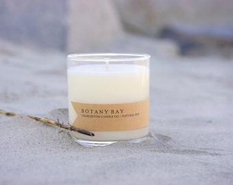 Botany Bay Candle   Driftwood Scented Soy Candle   9 oz Soy Candle   Charleston SC Inspired Candles