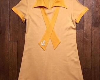 Dress short vintage 70's