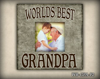 Worlds Best Grandpa Etsy