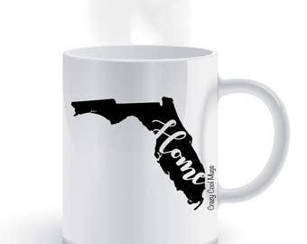 Florida Home State Pride Coffee Mug