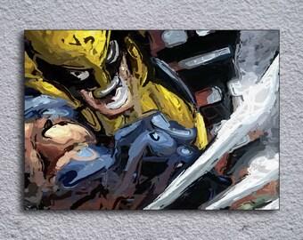 Wolverine (X-Men) Framed Painting Print