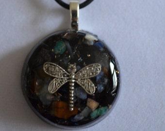 Dragonfly Chakra Orgone Pendant