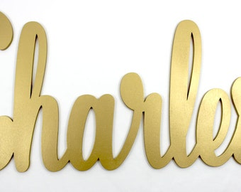 Personalized Wood Sign - Personalized Gift - Cursive Name Sign - Custom Wood Sign - Wooden Sign - Custom Name Sign - Baby Name Sign