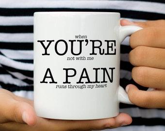 Funny Gift for Him | Funny Coffee Mug | Funny Valentine Gift | Valentines Day Mug | Valentine's Day | Valentine Mug | Funny Husband Mug