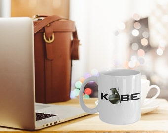 """Counter Strike Mug """"Kobe Grenade Mug"""" Gaming Mugs For CSGO Gamers - Gaming Gift Mug"""