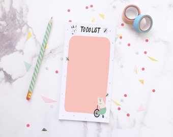 To do list ~ To dos ~ Notepad ~ Student gift ~ Gift for her ~ Cute stationery ~ Cute stationary ~ Memo pad ~ Hoard Pretty Things