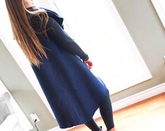 Handmade Mid Length Vest