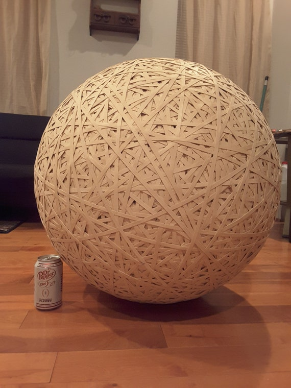 Items Similar To 300 Pound Rubber Band Ball On Etsy