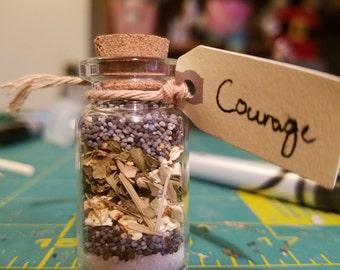 Courage Spell Bottle