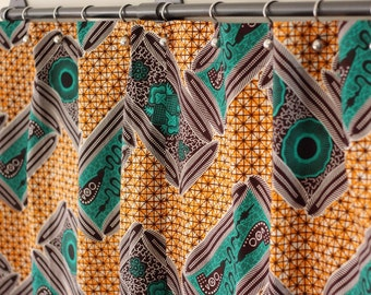 African Curtain Etsy