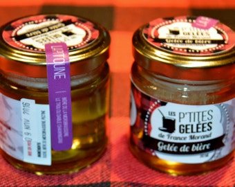 "Beer jelly ""season of the tractor."