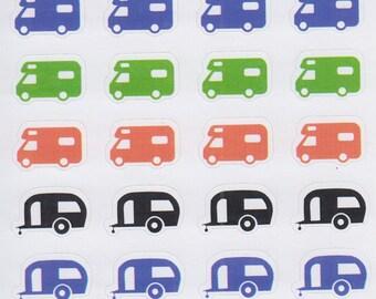 Caravans | 621 | Planner Sticker | Kikki-K | Happy Planner | Erin Condren