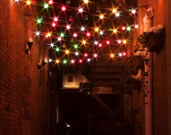 Urban Alley Lights