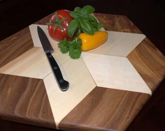 Colorado Cutting Board. Snowflake Design. Cheese board, bread board, or veggie board