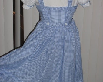 Wizard of Oz Dorothy Costume Dress for Girls