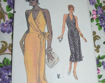 Vogue 9306 Misses Dress Sewing Pattern - UNCUT - Size 6 8 10