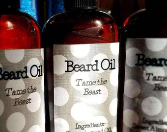 Beard Oil - Tame the Beast (Amber and Incense)