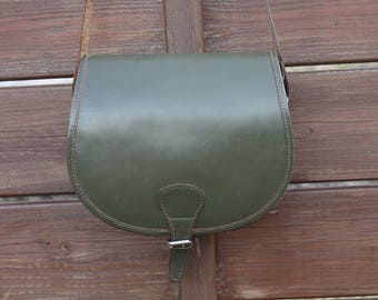 green leather bag, womens leather bag, leather bag womens, vintage leather bag, leather bag vintage, womens vintage bag, green leather
