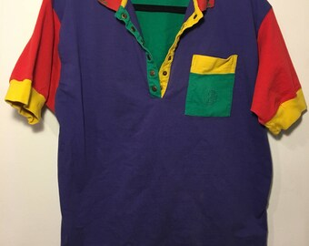 Vintage Colorblock Polo