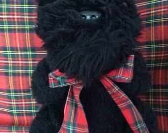 Scottie Dog stuffed animal 1986
