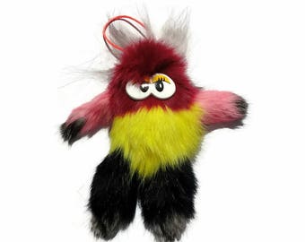 Very colorful and fluffy mascot!!! Only natural elements!!! Prime quality!!!!