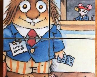 Wooden Block Puzzle - Little Critter by Mercer Mayer