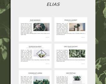 Elias Theme - Minimalist Wordpress Theme - Wordpress Theme - Genesis Child Theme - Responsive Theme