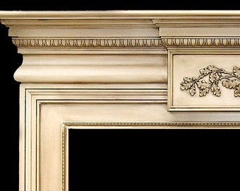 Montreal Wood Fireplace Mantel