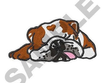 Bulldog - Machine Embroidery Design