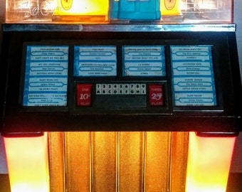 TableTop Jukebox Radio Tape Player