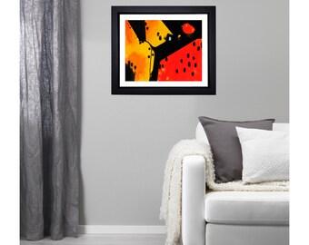 Original Painting / Watermelon. UNFRAMED