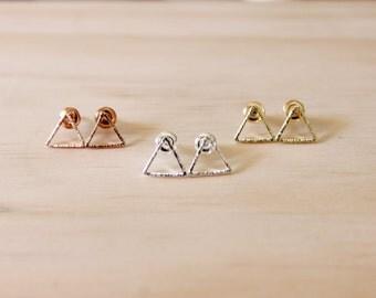 Dainty earrings, Delicate earrings, Simple earrings, Gift for her, Minimalist earrings, Fashion earrings, Chic earrings, Cute earrings