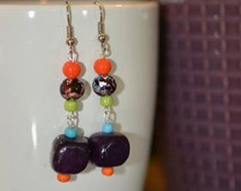 5th pair of Lorraine's Earrings in the Ladies Night Out Series