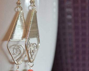 6th pair of Lorraine's Earrings in the Spring Series