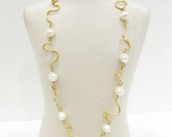 "Cecile Jeanne Paris ""The Arabesque"" Necklace"