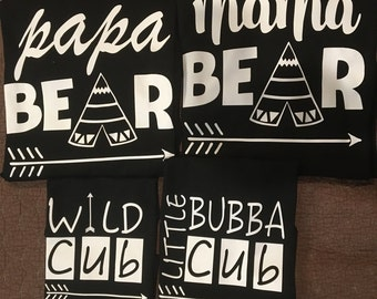 Mama Bear Papa Bear