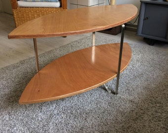 Handmade oval coffeetable