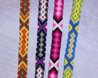 Colorful braided bracelet Handwoven bracelet Handmade jewelry Friendship bracelet