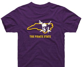 The Pirate State North Carolina NC home shirt