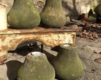Rustic Stone Candle Holder