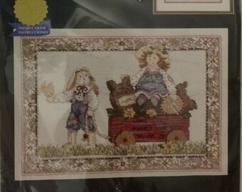Love is a Journey Cross Stitch Kit from Janlynn