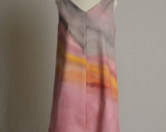 Colors of the time trapeze dress twilight in cotton