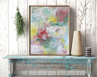 Original Large Abstract Art Painting On Canvas, wall art Large Square Acrylic Painting On Canvas Minimalist Abstract Painting