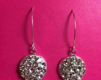 Super Sparkly Swarovki Crystal Earrings