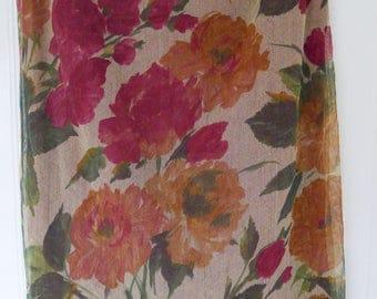 Vintage DOLCE & GABBANA floral print pencil skirt