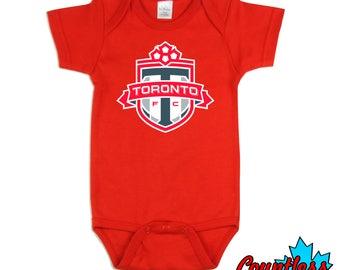 Toronto FC Baby Onesie Bodysuit