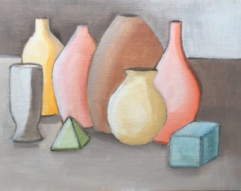 Pottery and objects