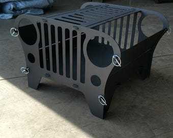 Jeep Collapsible Fire Pit