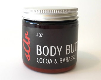 Body Butter - Cocoa and Babassu - 4 oz